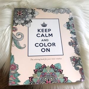Other - ADULT COLORING BOOK-NWT